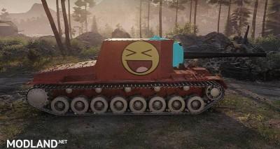 "SU-100Y Skin ""Happy Meme World"" 1.0.0.3 [1.0.0.3], 3 photo"